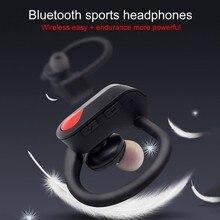 Наушник стерео звук портативный беспроводной Bluetooth гарнитура Hands-free наушники спортивные наушники
