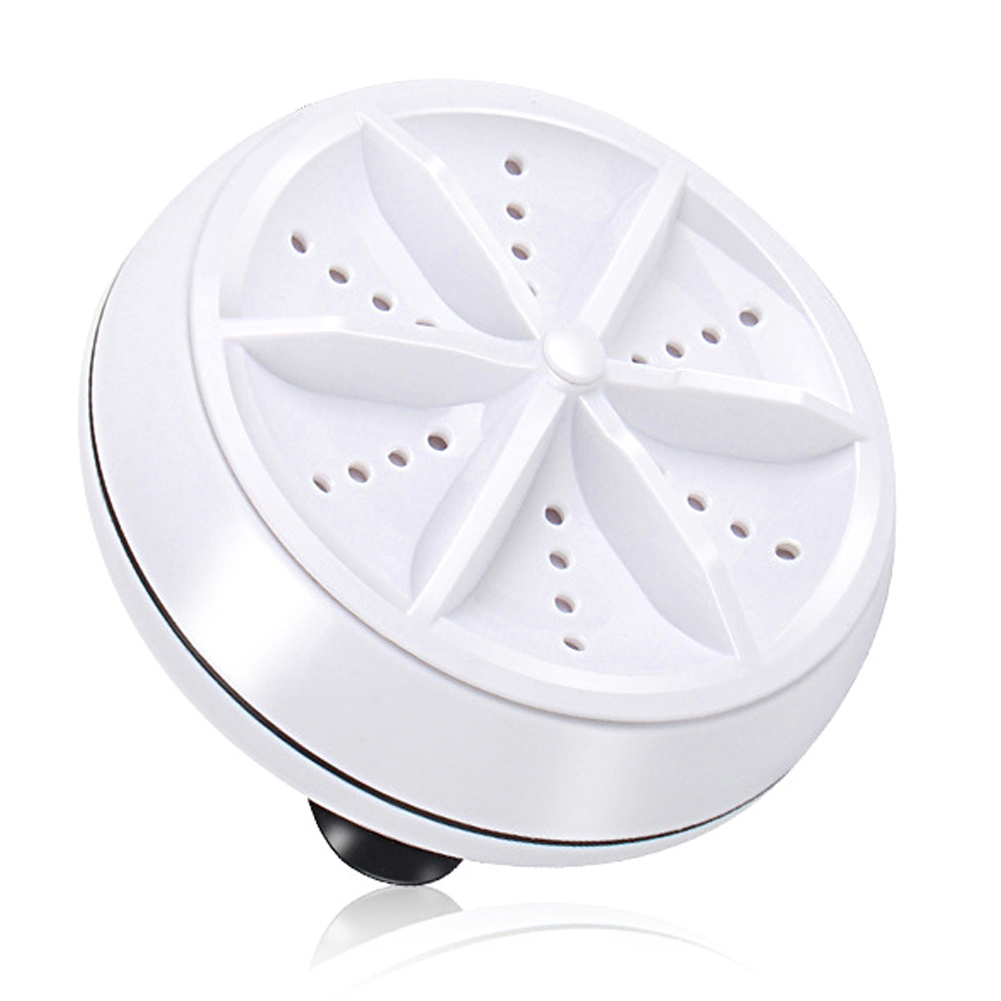 Portable Mini Washing Machine Ultrasonic Turbine Clothes Mini Washer With USB Cable Convenient For Travel Home Business Trip
