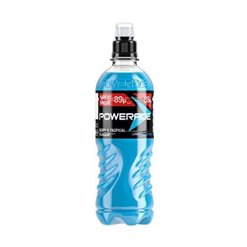 Powerade 15 X Berry & Tropical Pmp 89P (500Ml)