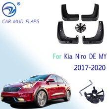 Брызговики для Kia Niro DE MY 2017, 2018, 2019, 2020, 4 шт.