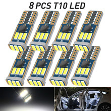 T10 W5W LED Lamp For Audi A3 8L 8V 8P A4 B5 B6 B7 B8 A5 A6 C5 C6 C7 A7 A8 D2 D3 Canbus Vehicle LED Interior Map Dome Trunk Light