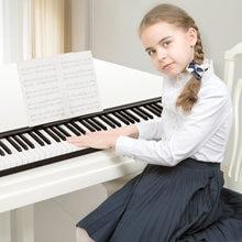 PH88 88 مفاتيح 66 مفاتيح لوحة مفاتيح البيانو الإلكترونية ميدي الإخراج مع 400 نغمات 80 الأغاني التجريبي مجموعة طبلة وظيفة Reording الحفاظ على دواسة
