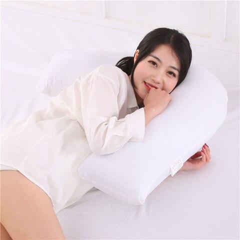 1 peca gravidez lado sleepers travesseiros solido amamentacao gravidez travesseiro conforto gravida cintura travesseiro cama