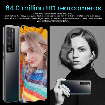 Newest NOVA7 PRO Smartphone 7.2 Inch HD Large Screen Smart Phone 5000mAh 512G ROM Mpbile Phone Global Unlocked Dual Sim Phone 4