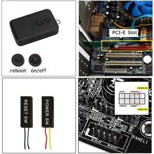 Image 2 - Đa chức năng 10/100/1000 Mbps PCI E CARD CHUYỂN ĐỔI PCI Express sang RJ45 Card Mạng Gigabit có Điều Khiển từ xa để Biến tắt/mở Máy TÍNH Để Bàn