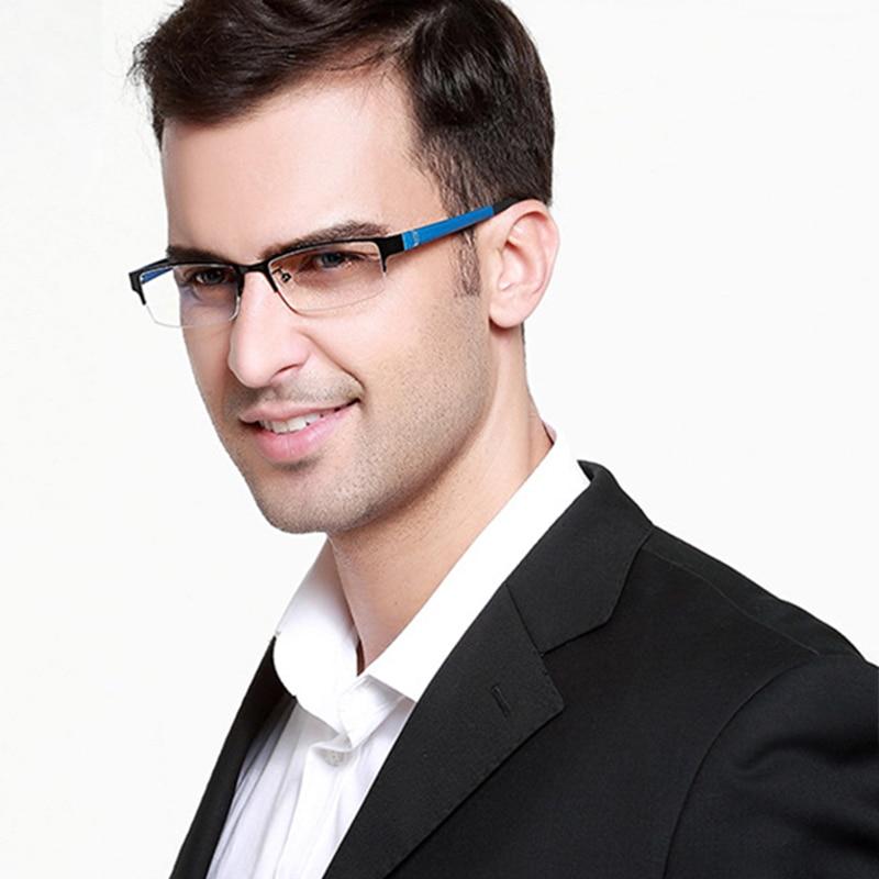 Stgrt Men Prescription Reading Glasses With Gradient Lens Anti Blue Ray Uvb 400 Protection очки