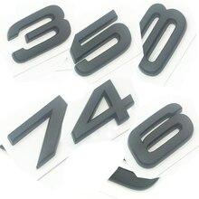 OEM ABS Nameplate compatible for Audi S 3 4 5 6 7 8 s3 S4 s5 s6 s7 s8 Matte Black  Emblem 3D Trunk Logo Badge Compact ночник oem 1 jl jj0067 s4 50 0067jj s4