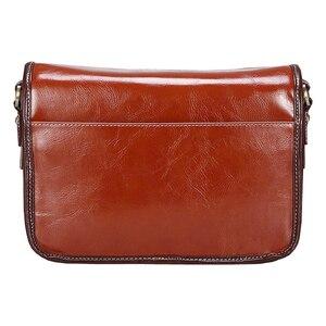 Image 4 - Luxury Camera Case Handbag Waterproof Shoulder Messenger Bag Fashion Retro PU Leather DSLR Case Gadget Bag for Sony Canon Nikon