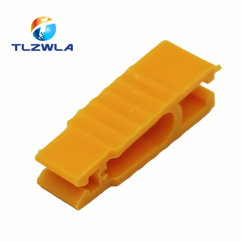 2pcs Blade Fuse Puller Car Automobile Fuse Clip Tool Extractor for Car Fuse Holder Yellow Car Fuse Extractor Small Medium Clip image