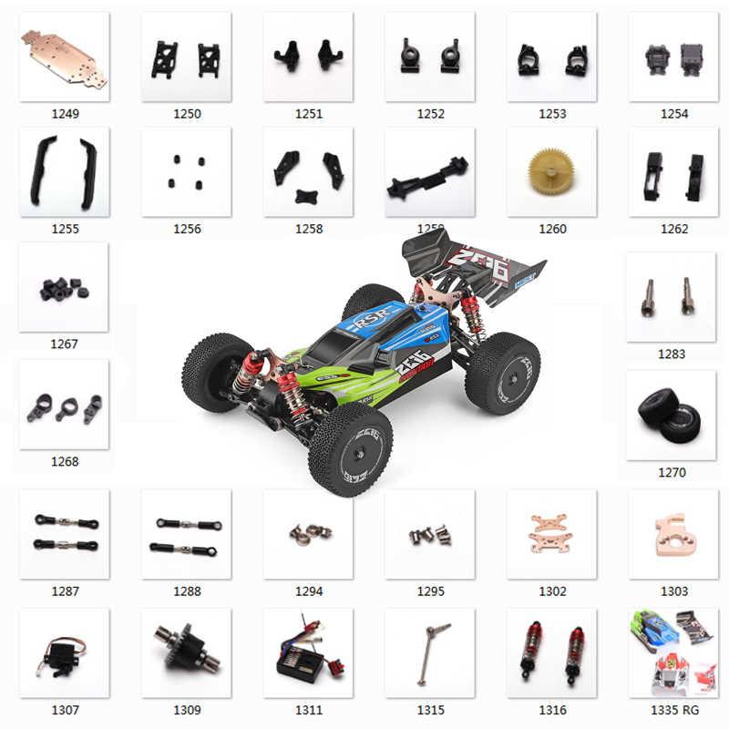 2Pcs Al Alloy Rear Swing Arm Spare Parts for WLtoys 144001 1//14 RC Car Model