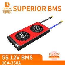 18650 bms 5S 6S 10A 40A 60A 100A 250A LTO BMS 2.4V lityum titanat çok dize lityum pil koruma levhası dengeli BMS