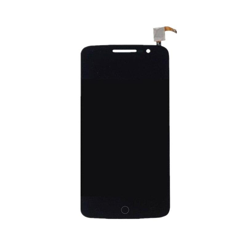 Per Alcatel One Touch Pop 2 Premium 7044 OT7044 7044X 7044Y 7044K 7044A Display Lcd di Tocco Digitale Dello Schermo di Vetro montaggio