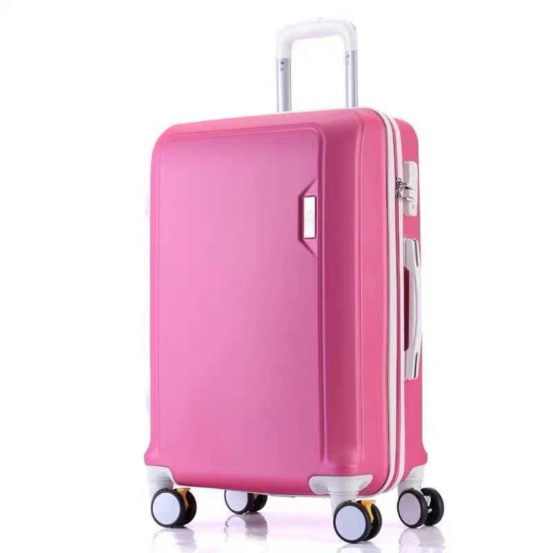 Abs + Pc Bagage Set Reizen Koffer Op Wielen Trolley Bagage Carry Op Cabine Koffer Vrouwen Tas Rolling Bagage Spinner wiel