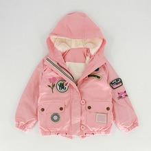 Детская зимняя куртка для детей, теплая длинная куртка с хлопковой подкладкой, Новое поступление парка, пальто с капюшоном для девочек и мальчиков-подростков детская верхняя одежда