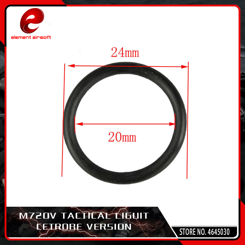 Element 5pcs/lot Airsoft Piston Head O Ring For AEG Hunting Accessories Black 24*20CM