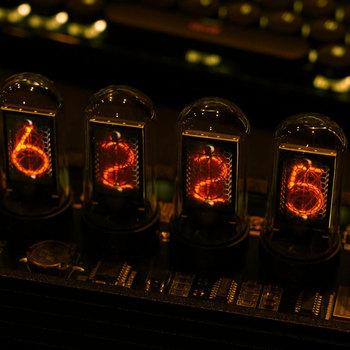 EleksMaker®EleksTube IPS 6-Bit IPS Retro świeci analogowy Nixie Tube elekstube zegar tanie i dobre opinie CN (pochodzenie) Zegary biurkowe Metal LUMINOVA DIGITAL