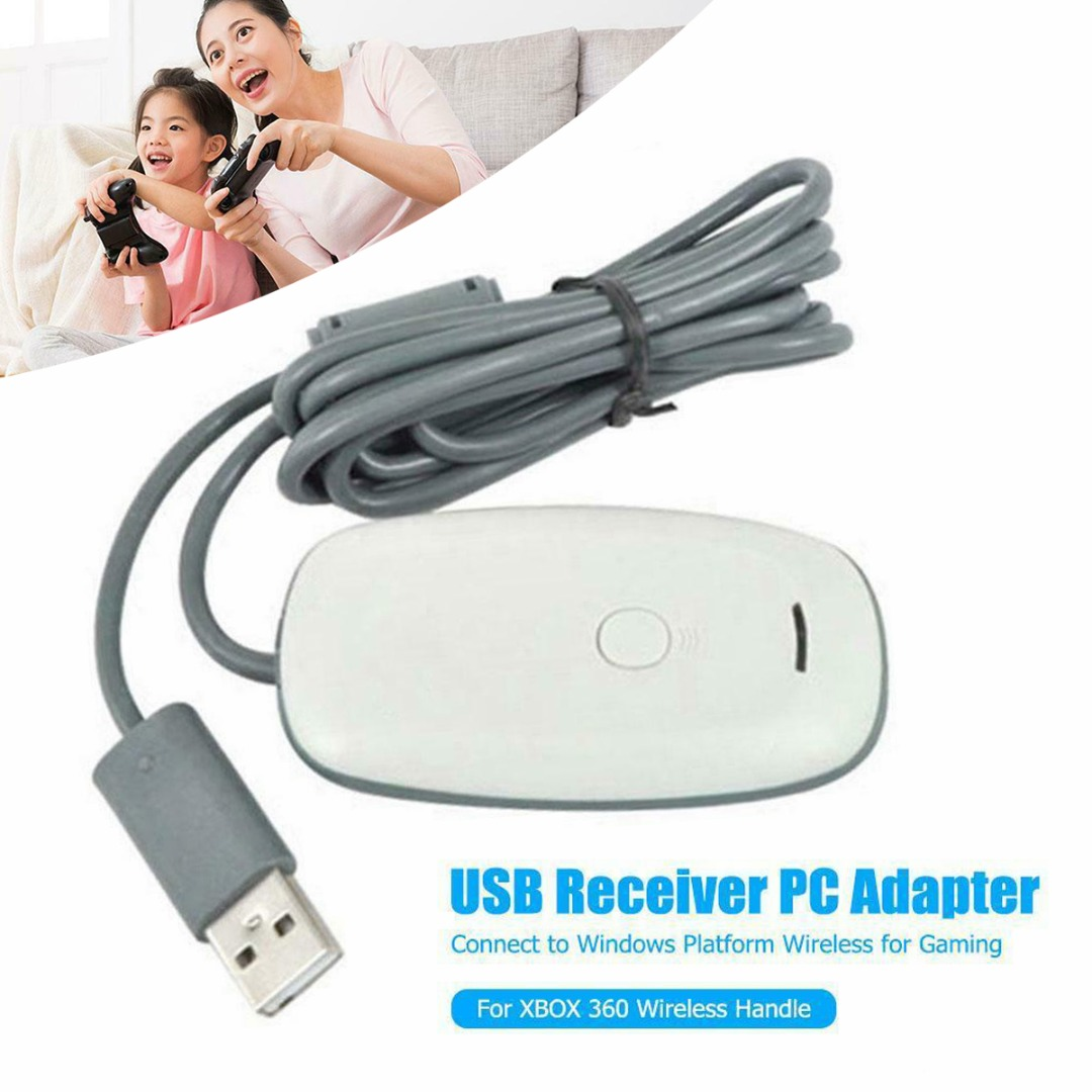 New Arrival 1pc USB <font><b>Wireless</b></font> Gaming Receiver <font><b>Adapter</b></font> For <font><b>XBOX</b></font> <font><b>360</b></font> <font><b>PC</b></font> <font><b>Controller</b></font> Windows <font><b>PC</b></font> Receiver Gaming Accessories image