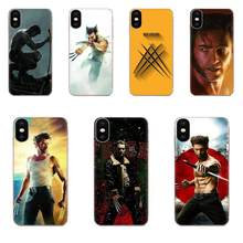 For Xiaomi Redmi Note 2 3 3S 4 4A 4X 5 5A 6 6A Pro Plus TPU Pattern Case Cover Marvel Hero Wolverine(China)