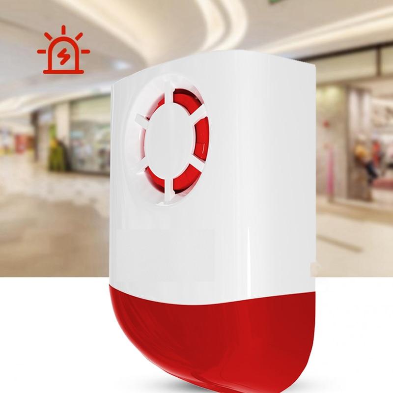 2020 New Wireless Weatherproof Ecternal Flash Led Strobe Outdoor Siren For Home  G2B O2B GSM Alarm System