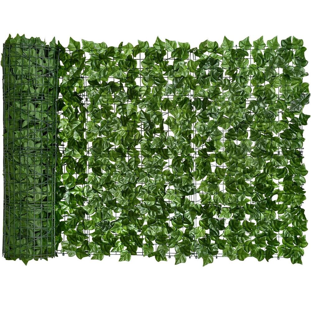 0,5x3 м искусственный плющ, забор для конфиденциальности, экран, искусственные ограждения и искусственный плющ, листья винограда, украшение д...