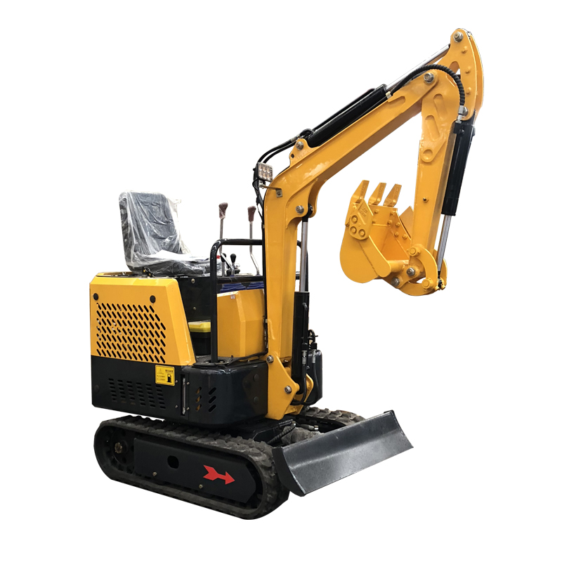 HC-10 Diesel petite pelle verger agricole terre excavatrice concassage ménage multifonction petite pelle crochet machine