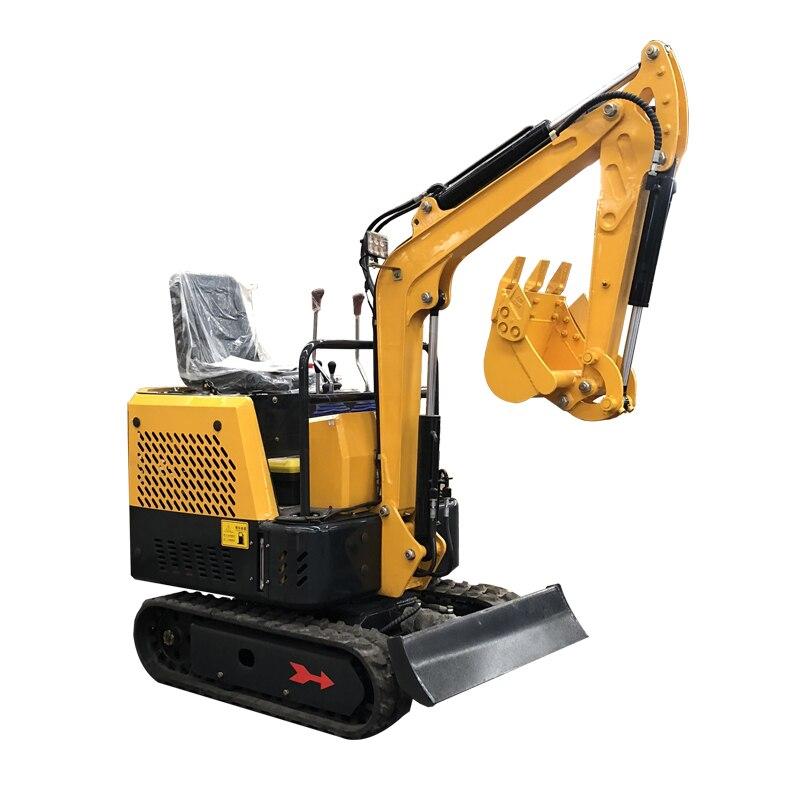 Mini-pelle de serre de verger d'excavatrice d'ingénierie de construction multifonctionnelle Diesel avec le marteau