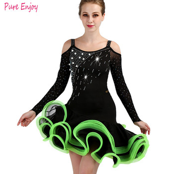 Sexy Stage Women Lady Latin Dance Dresses customized dance Costume Made Performance Party Samba Competition performance clothing
