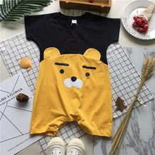 Tonytaobaby Summer Wear New Style Baby Bear Pattern Pure Cotton Romper(China)