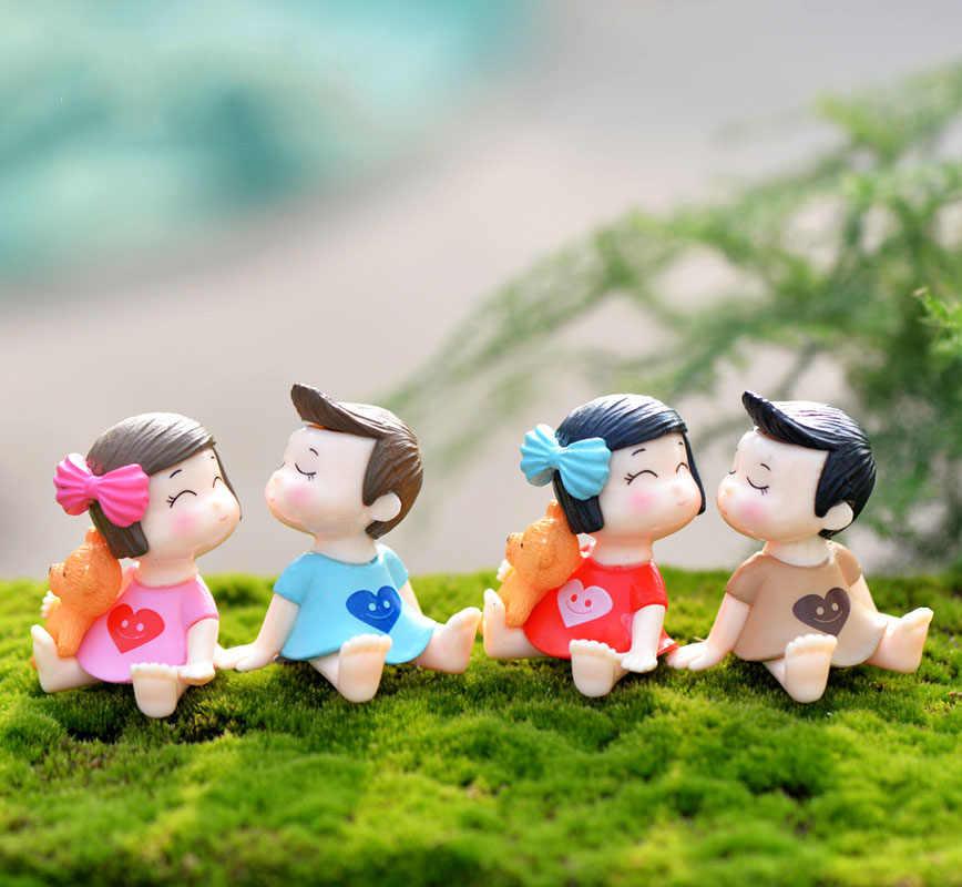 15 stile Mini Sedia Complementi Arredo Casa Miniature Fata Ornamenti Da Giardino Figurine Giocattoli FAI DA TE Acquario/Accessori Casa Delle Bambole Decorazione