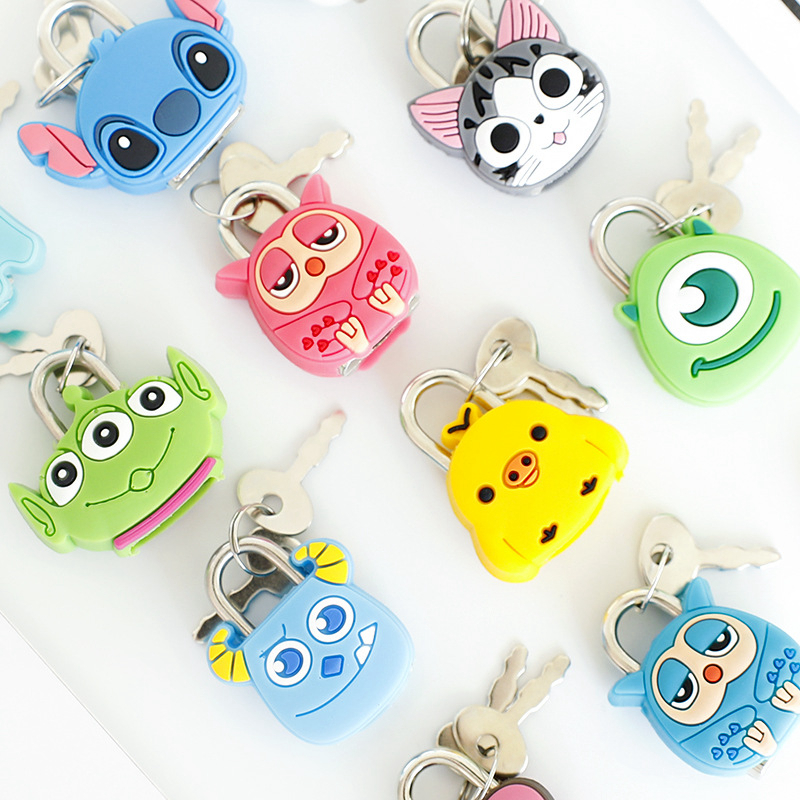 Cute Travel Accessories Cartoon Luggage Locks Protector Holder Accessory Packe Organizers Animal Journal Locks Dropshipping