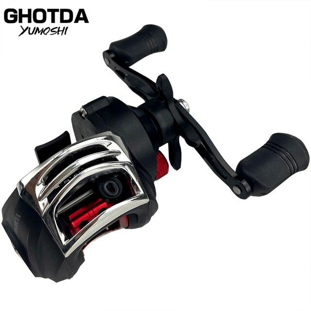 Ghotda Baitcasting Fishing Reel High Speed 7.2:1 Gear Ratio 18+1BB Ultralight