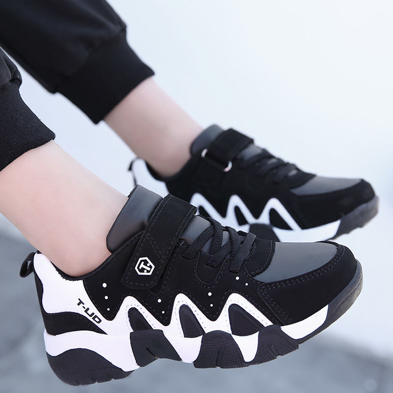 Spring Autumn Children Shoes Fashion Sports Running Shoes Breathable Outdoor Shoes Boys Sports Shoes Outdoor  Sneaker Size 28-40
