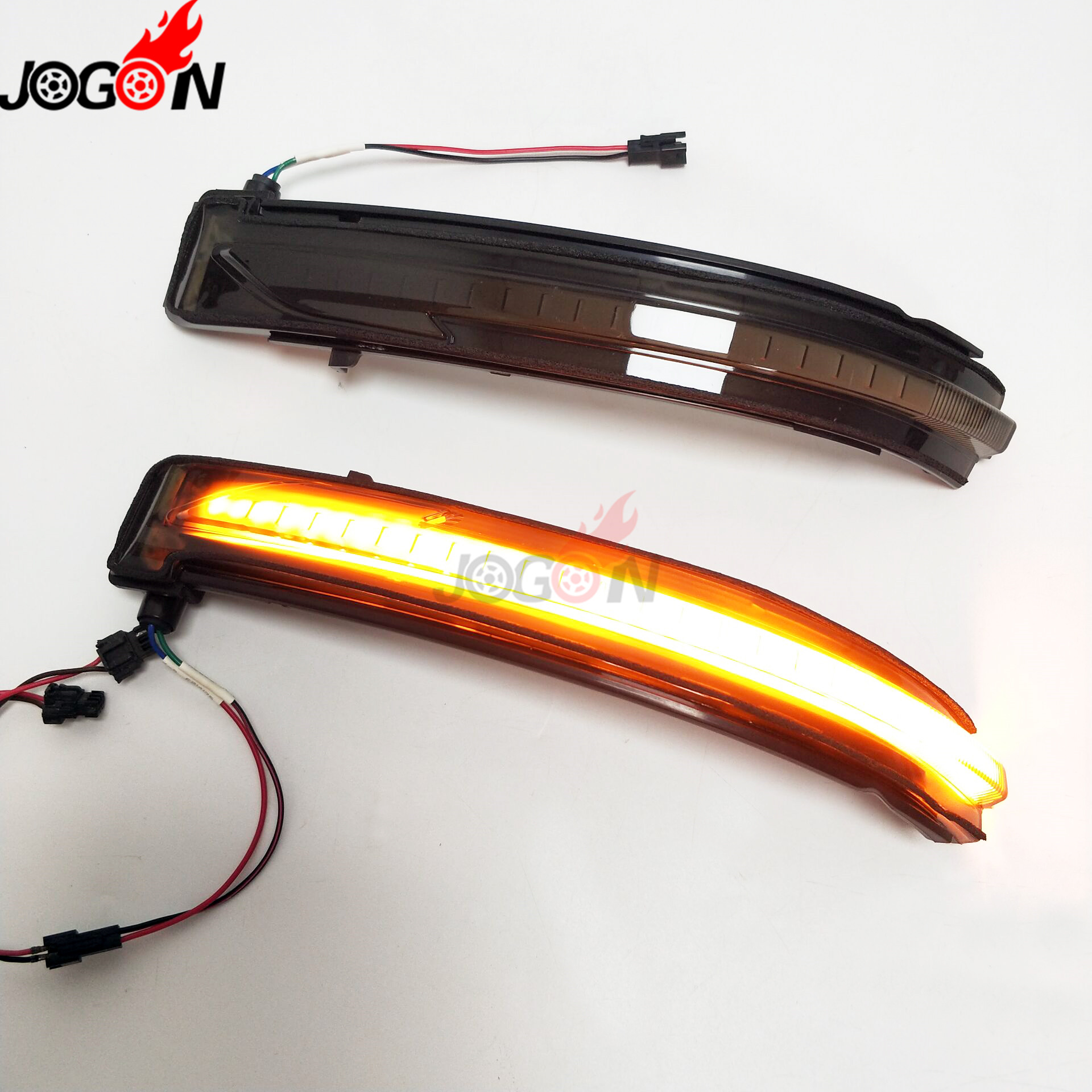 LED Side Mirror Dynamic Turn Signal Sequential Light For Nissan X-Trail T32 Rogue Qashqai J11 Murano Z52 Juke Navara Pathfinder