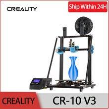 Tamanho CR-10 * 300*300mm do jogo da impressora de creality 3d 400 v3, impressão silenciosa do currículo do mainboard tmc2208, bl toque opcional não pré-instalado