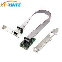 Mini adaptador de placa de rede pci e 1000 mbps gigabit ethernet 10/100/1000 m rj45 lan cartão para xp win7 win10 internet livre lan adaptador|Cartões para acréscimos|   -