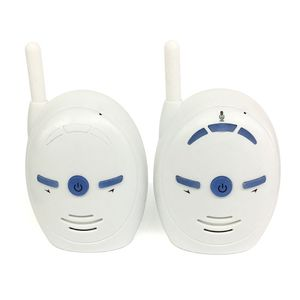 Image 4 - V20 Portable Baby Sitter 2.4GHz Baby Monitor Audio Digital Voice Broadcast Double Talk Walkie talkie(European plug)           #5