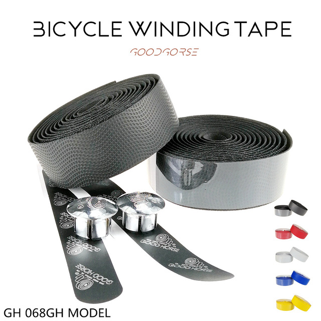 Road Bike Bicycle Handlebar TapeCycling Handle Belt Cork Tape Wrap with Bar Plugs spare non slip absorb sweat Bike Accessories
