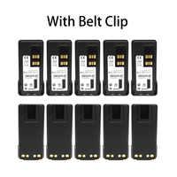 10X PMNN4409/PMNN4409AR de la batería para Motorola prortable radios con GPS de MotoTRBO XPR7350 XPR7380 XPR7550 XPR7580 XPR3300e XPR3500e