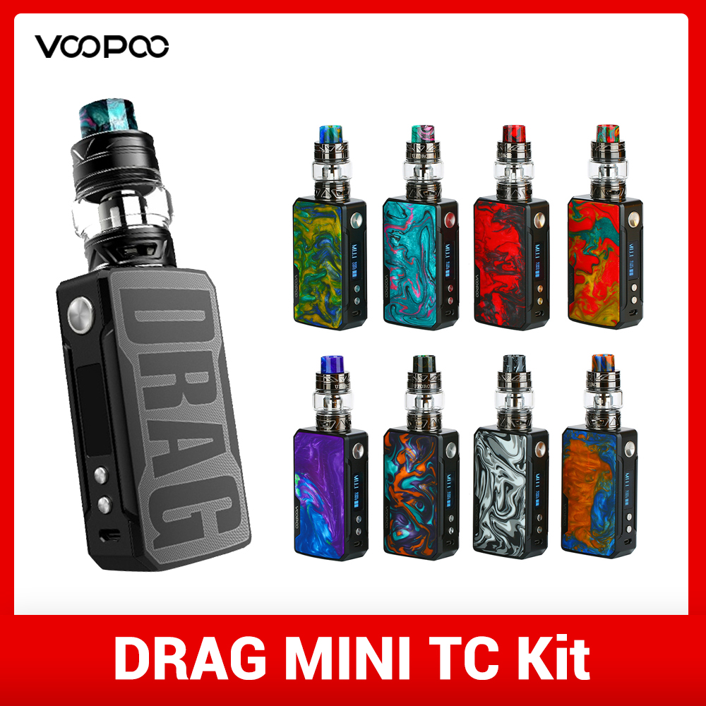 Electronic Cigarette VOOPOO Drag 2 Kit Box Mod 177W Vape T2 Tank Cigarette Electronique Pod RBA Vaporizer VS MAG E Cigarette