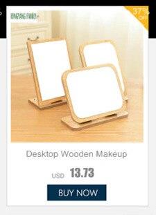 Espelho cosmético portátil acessórios de decoração para