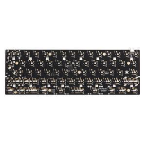 Image 2 - DZ60 Custom mechanical keyboard PCB 60% keyboard support arrow key alu plate gateron switch stab