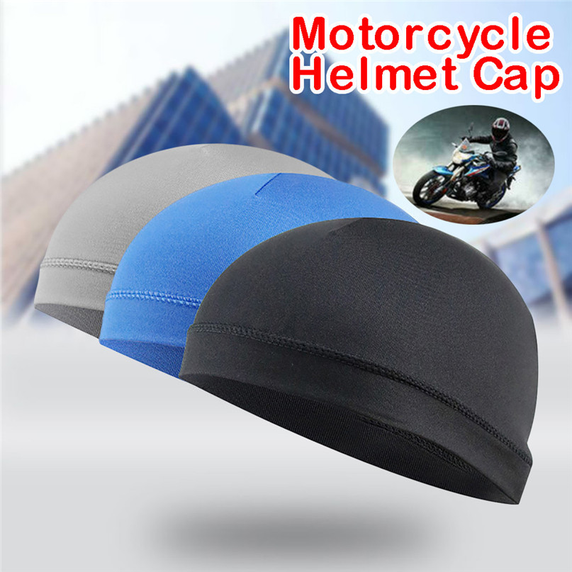 Riding Cycling Cap Moisture wicking cooling sunscreen helmet lined insulation cap with beanie dome cap sweat band wholesale #2L3