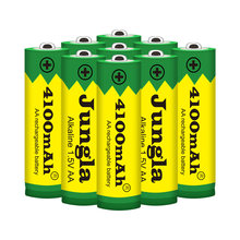 2-20PCS 1.5V AA rechargeable battery AA cell 4100mah for torch toys clock MP3 player replace batteries Free shipping(China)