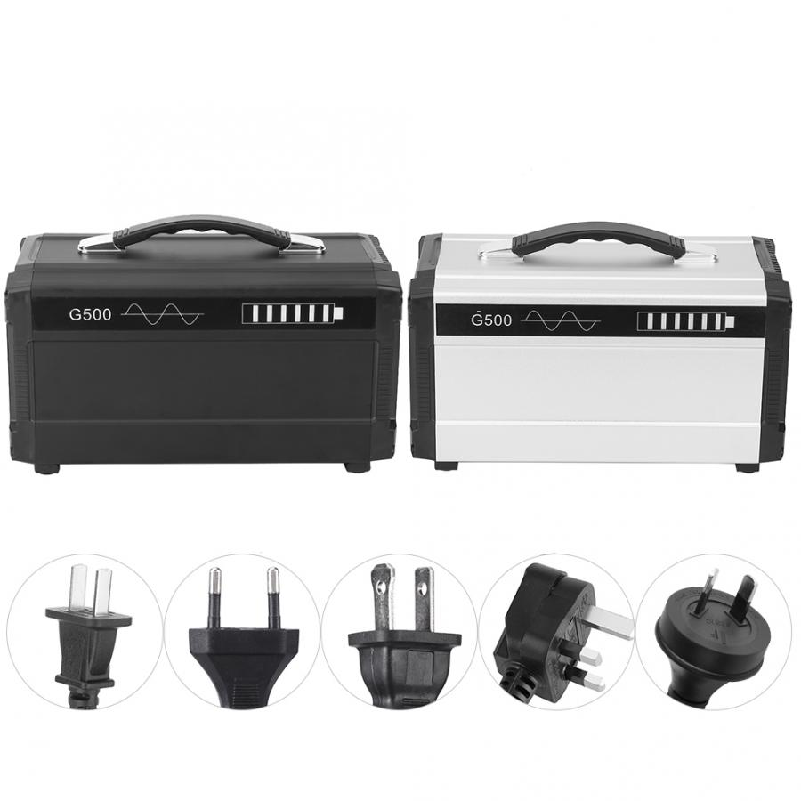 Solar Panel Charging Solar Generator with Lighter Interface Output Used as Traditional UPS 2