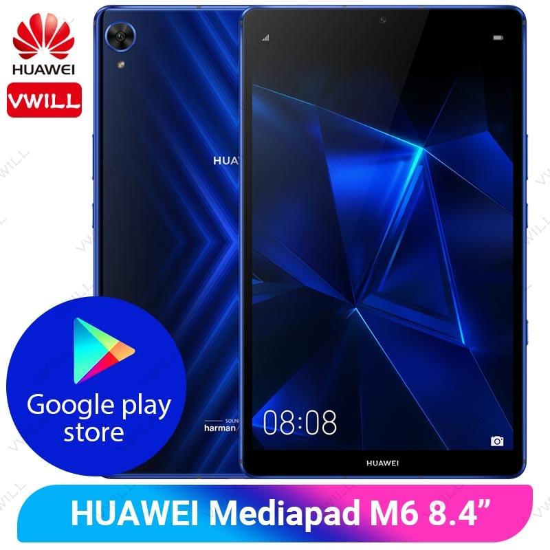 8.4 polegada huawei mediapad m6 pro tablet pc 6gb 128gb google play kirin 980 octa núcleo android 9.0 gpu turbo jogo tablet pc