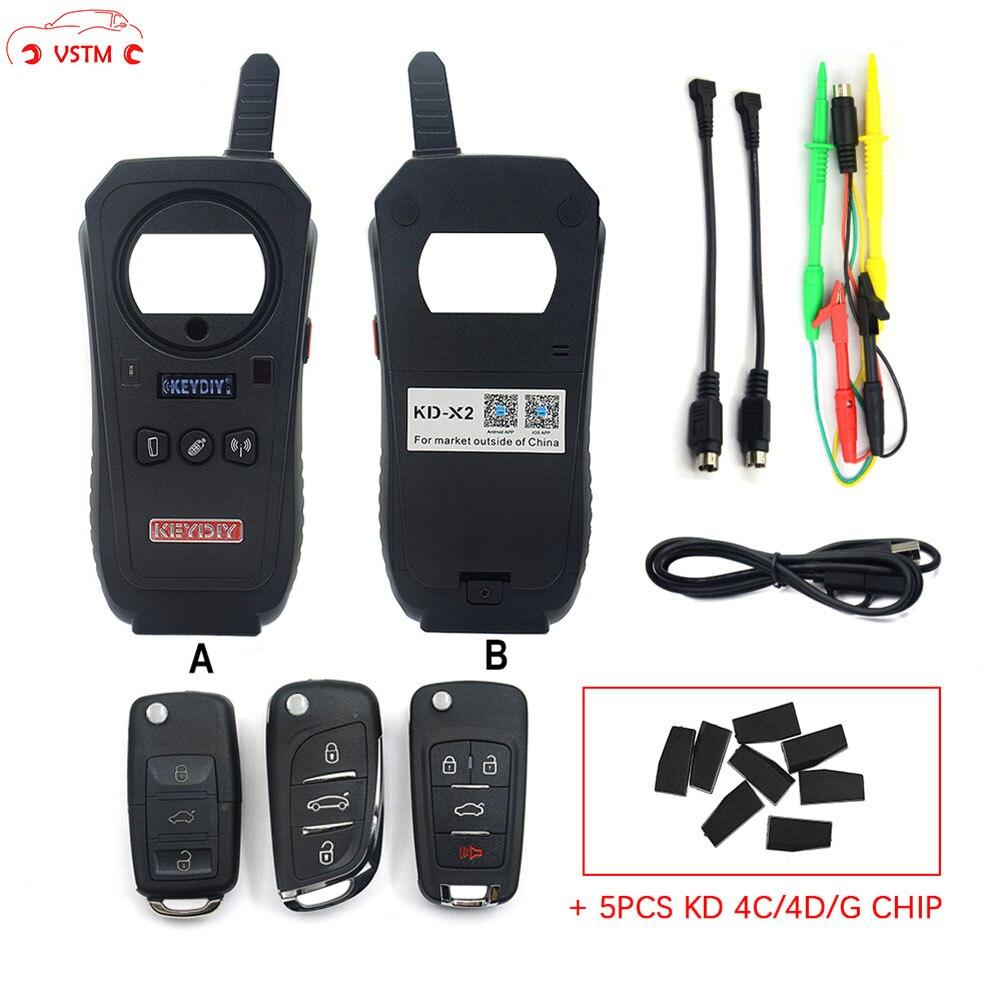 VSTM KD-X2 KEYDIY Chave Do Carro Remoto Da Porta Da Garagem kd x2 Generater/Leitor De Chip/Frequência