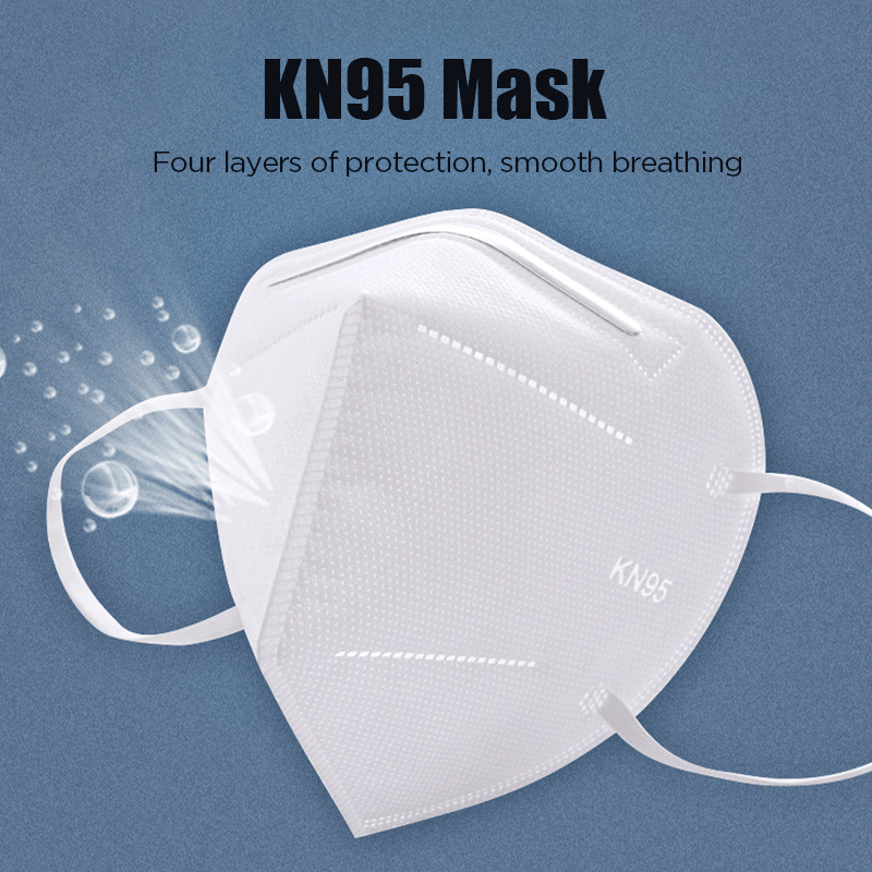 KN95mask Dust Face Mouth Disposable Masks Filter PM2.5 Safety Respirator Reusable Cotton Mascarilla Anti Mask Filter Breathing