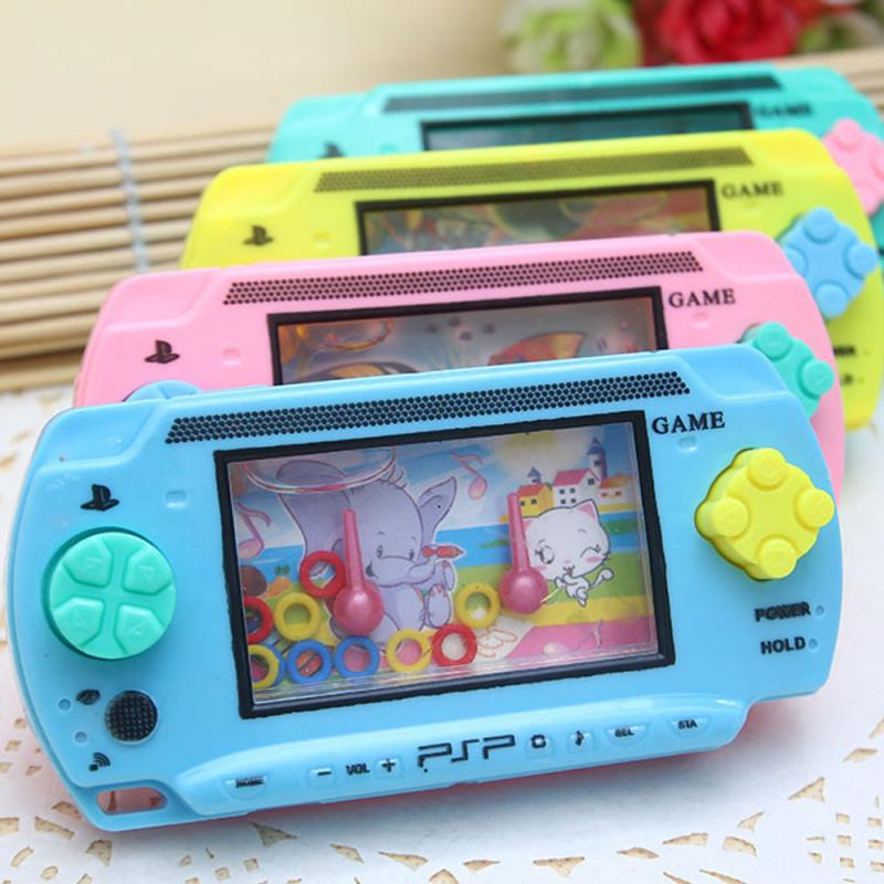 Funny Children's Toy Game Machine Water Machine Ferrule Leisure Traditional Nostalgic Hand-eye Coordination Interactive Game
