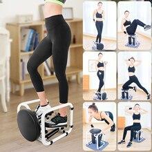 Multifunktionale Mini Fitness Twist Stepper Elektronische Display Home Exericse Workout Stuhl Sitz mit Widerstand Bands Bauch