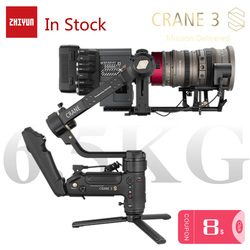 ZHIYUN Official Crane 3S/Crane 3S-E 3-Axis Handheld Stabilizer for 6.5KG DSLR Camera Video Cameras Gimbal